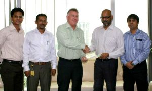 Agreement with Banglalion Communications Ltd