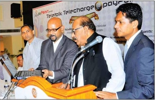 Successfully launched the Teletalk Telecharge @payPoint Ceremony