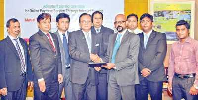 Mutual Trust Bank signs with ShurjoMukhi Ltd for Online Merchant Payment Service